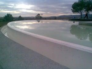 Στεγανοποίηση δεξαμενής πόσιμου νερού