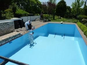Στεγανοποίηση πισίνας