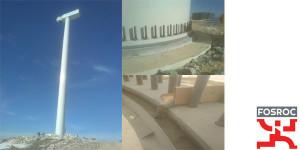 Πάκτωση ανεμογεννητριών με Conbextra BB92-0 στον Αιολικό Σταθμό Δενδροχώρι Καστοριάς